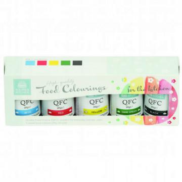 Pack 5 colorantes en gel Kit 1 SK