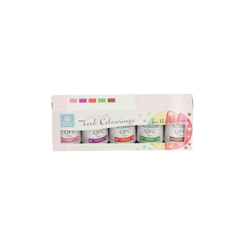Pack 5 colorantes en gel Kit 2 SK