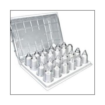 Caja de boquillas de metacrilato