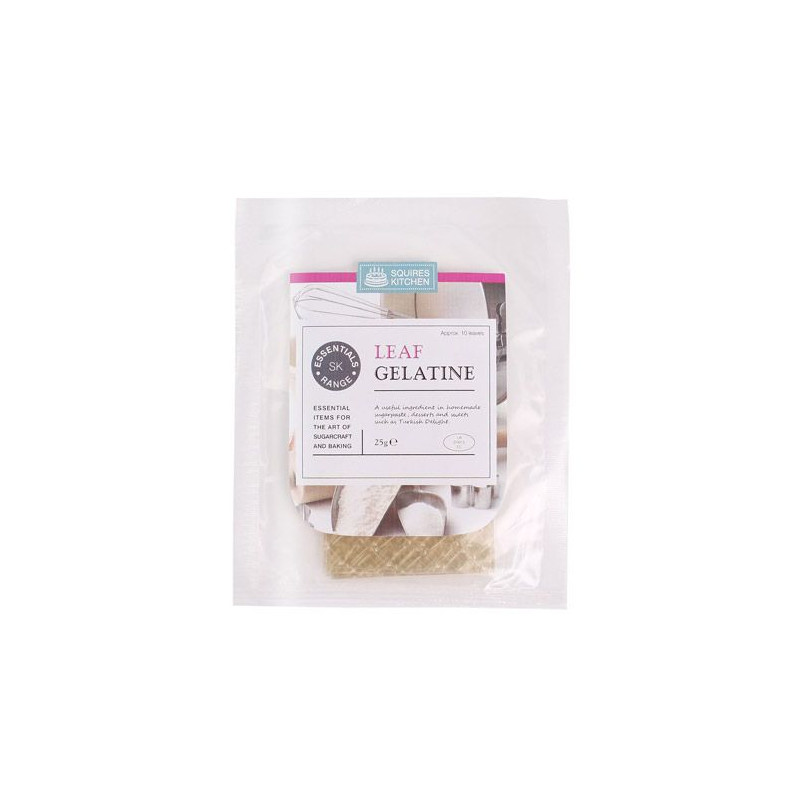 Hojas de Gelatina pack 10 unidades SK