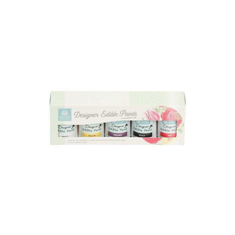 Pack 5 pinturas comestibles Kit 1 SK