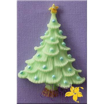 Molde silicona Árbol de Navidad GSA Alphabet Mould