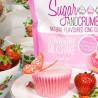 Azúcar Icing Sugar sabor Batido de Fresa Sugar and Crumbs