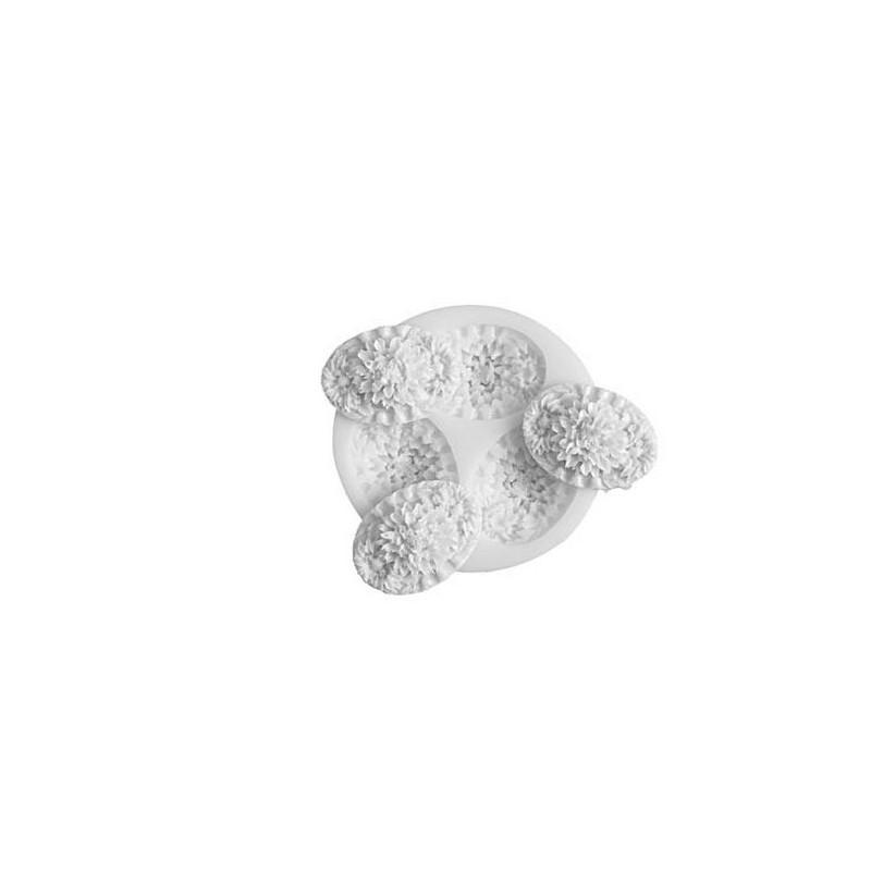 Molde silicona Oval Flores SLK