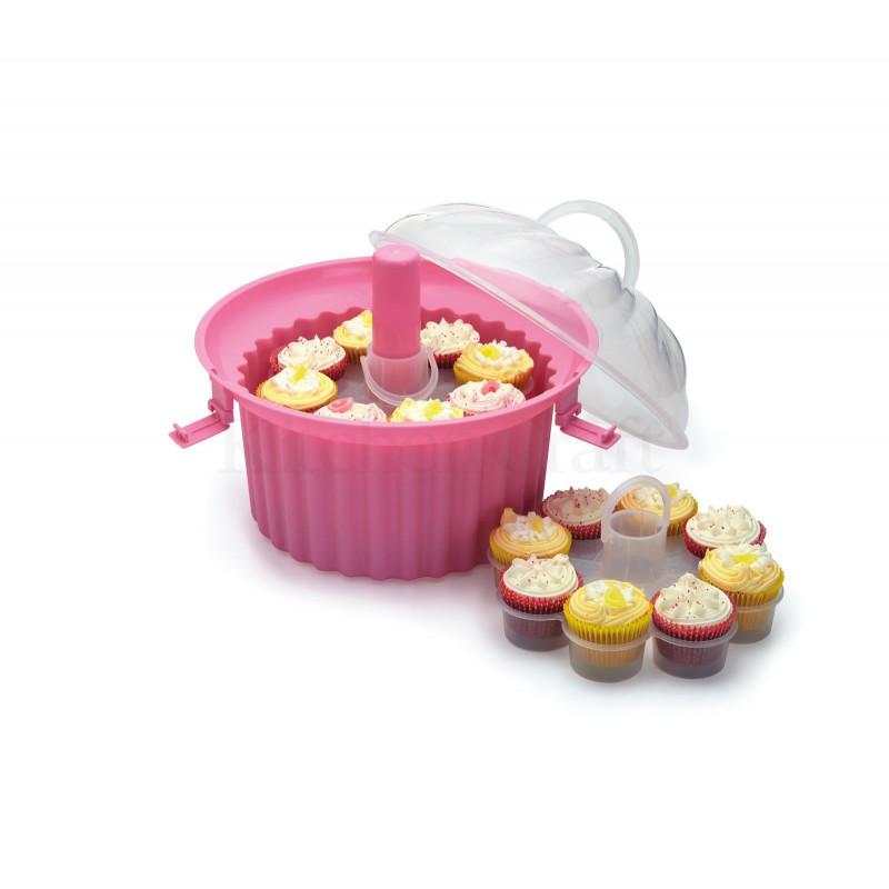 Caja Transportadora Cupcakes 3 niveles Sweet Does It