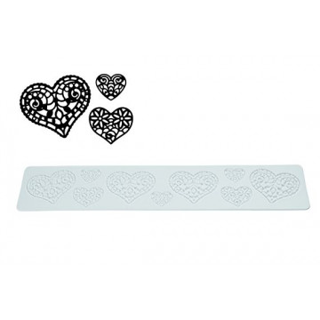 Tapete de Silicona Heart Tricot Decor SLK