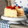 Cake Stand de cerámica Vintage Indigo Katie Alice