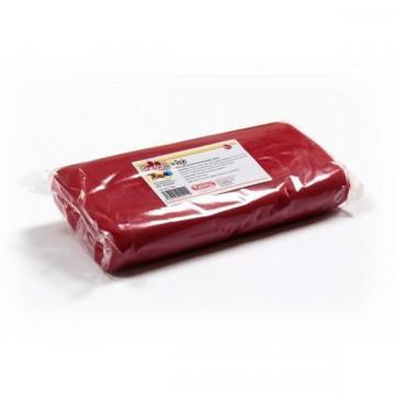 Fondant listo para usar Rojo 1kg Kelmy