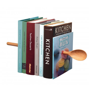 Soporte libros invisible Cuchara Kitchen Craft