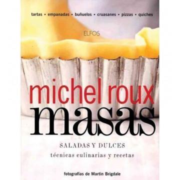 Libro Masas Saladas y Dulces Técnicas Culinarias Michel Roux