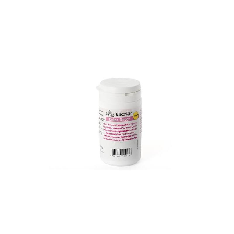 Colorante en polvo Hidrosoluble Amarillo 25 gr SLK