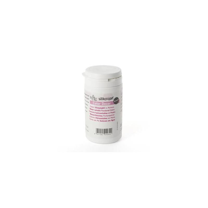 Colorante en polvo Hidrosoluble Marrón 25 gr SLK