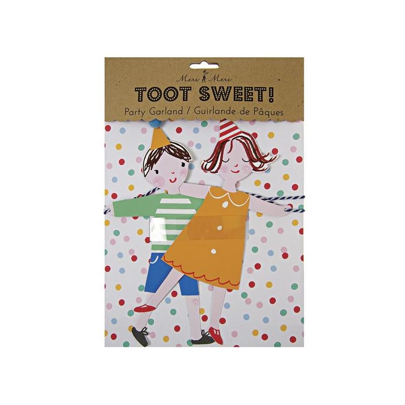 Girnalda Cumpleaños Toot Sweet Meri Meri