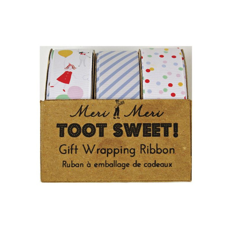 Cinta de tela pack 3 colección Toot Sweet Meri Meri