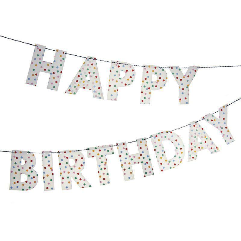 Girnalda Cumpleaños Letras Toot Sweet Meri Meri