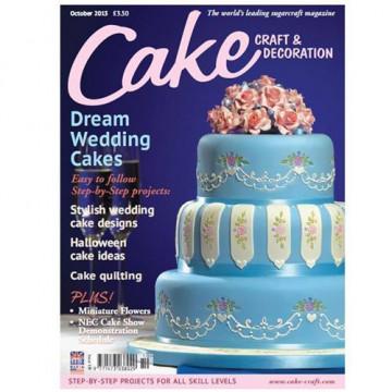 Revista Cake Craft & Decoration Edición Octubre 2013