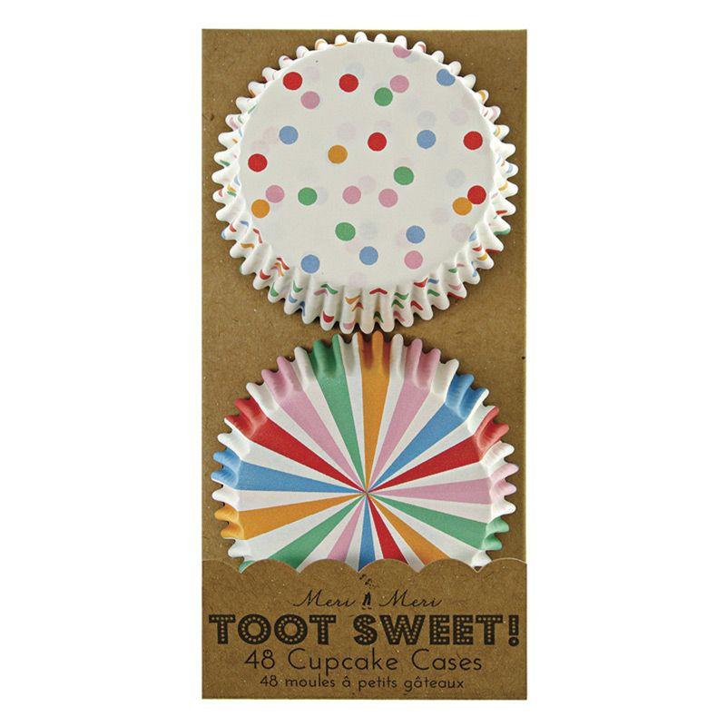 Capsulas cupcakes colección Toot Sweet Multi Colored Meri Meri