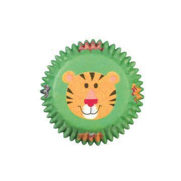 Capsulas mini cupcakes Jungle Wilton
