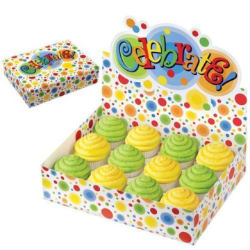 Caja Stand Expositor 12 Cupcakes Celebrate Colores Wilton