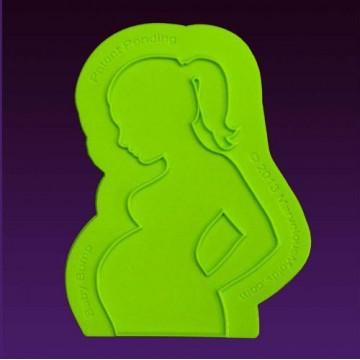 Molde silicona Mujer Embarazada Marvelous Moulds