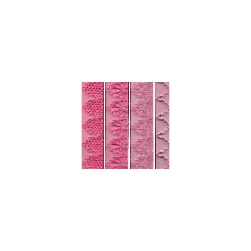 Cenefa marcadora borde rosa