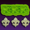 Molde silicona Flor de Lis Marvelous Moulds