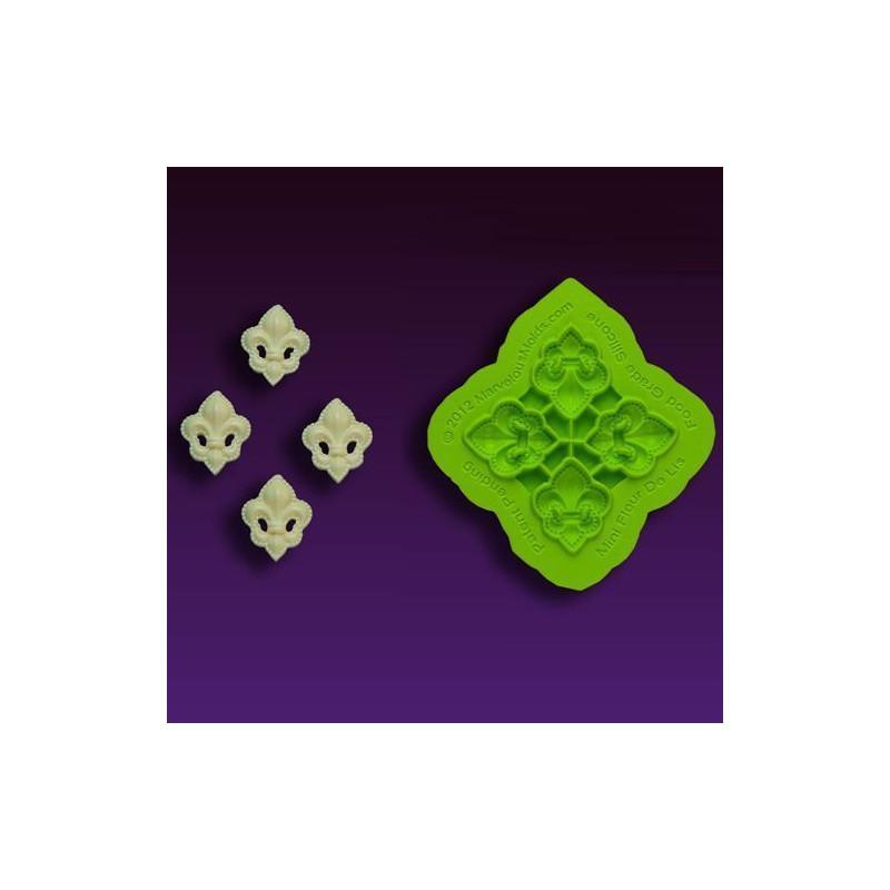 Molde silicona Mini Flor de Lis Marvelous Moulds