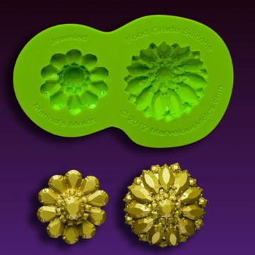 Molde silicona Broches Glimmer Marvelous Moulds
