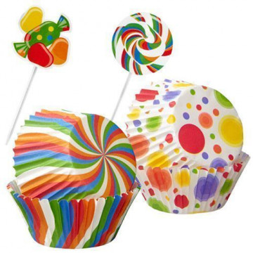 Set para cupcakes: Party and Candy Wilton