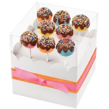Caja regalo para cakepops Wilton