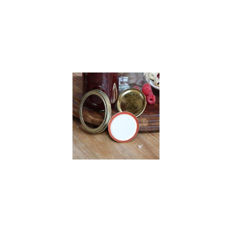 Tapa con rosca + Bajo Tapa Kilner
