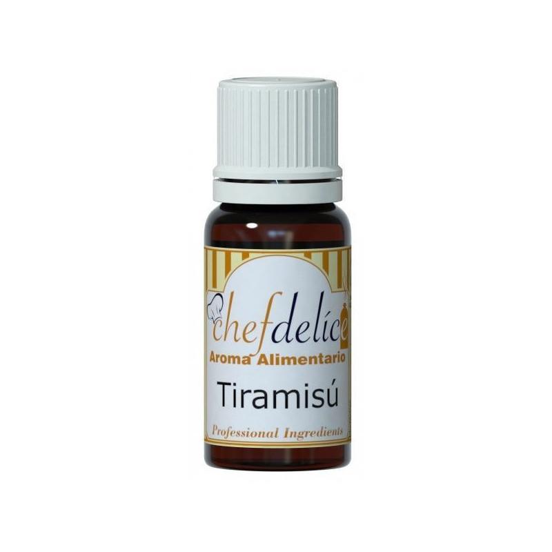 Aroma concentrado Tiramisú 10 ml Chefdelice