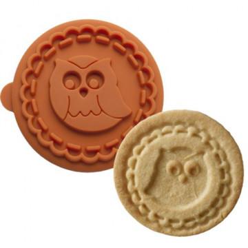 Sello/Estampación galletas Buho Birkmann