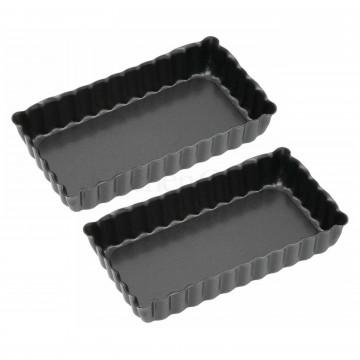 Tartaleta rectangular pack 2 Kitchen Craft