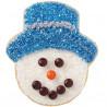 Cortante galleta Cara Muñeco de Nieve Wilton