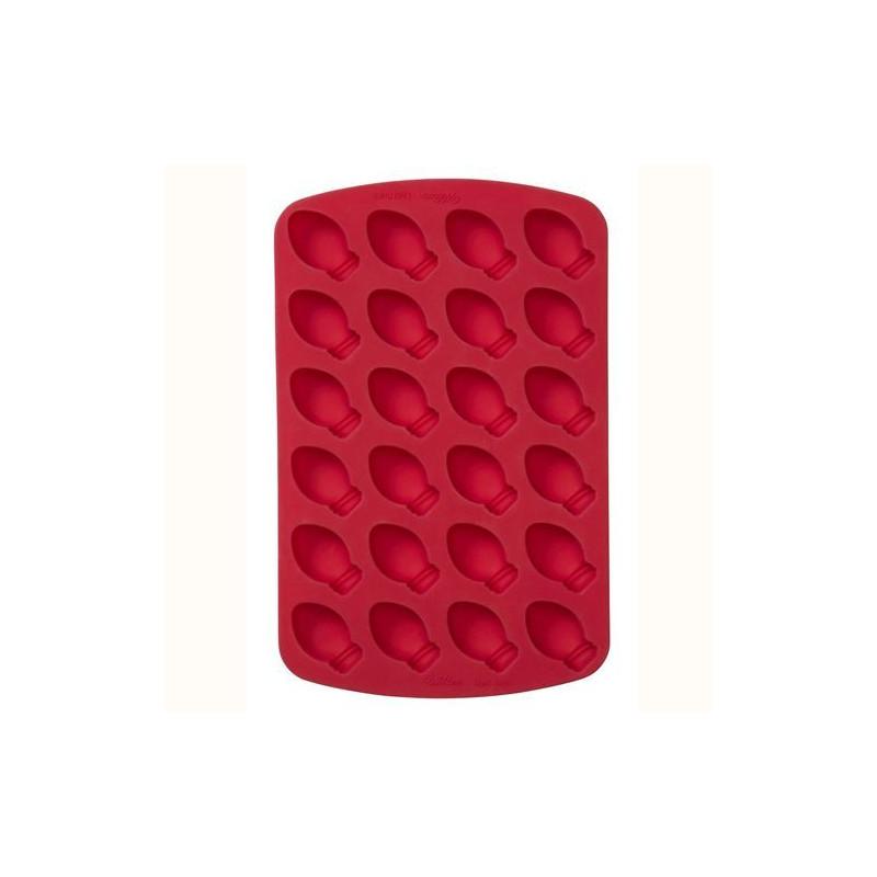 Molde silicona 24 cavidades bombillas Wilton