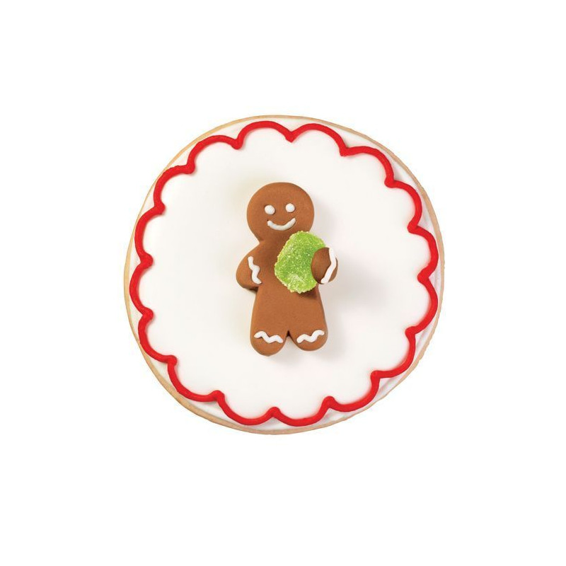 Decoraciones de Icing Gingerbread Gominola Wilton