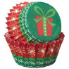 Capsulas mini cupcakes Regalo Navidad Wilton