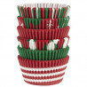 Capsulas cupcakes pack 150 unidades Surtido Navidad Wilton