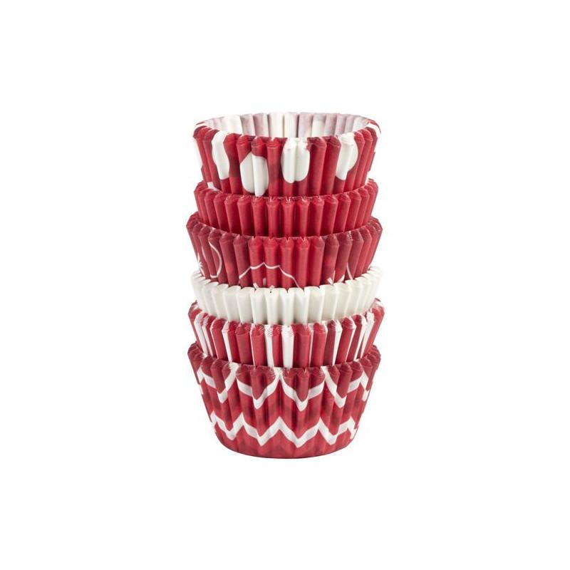 Cápsulas mini cupcakes 150 unidades varias Navidad 2 Wilton