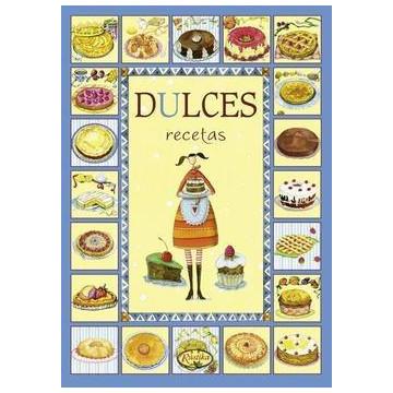 Libro Cuaderno Dulces Recetas
