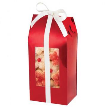 Cajas, pack 3 cajas largas presentación Roja Navidad Wilton