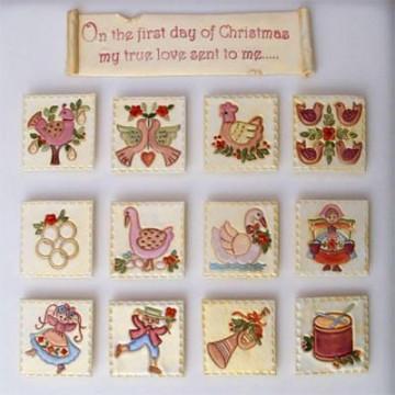 Patchwork 12 dias de Navidad
