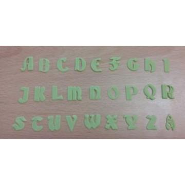 Cortante Clikstix Alfabeto Mayúscula Gótico