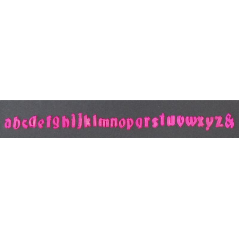 Cortante Clikstix Alfabeto Minuscula Gótico