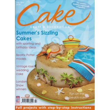 Revista Cake Craft & Decoration Edición Julio 2012
