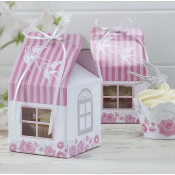 Cajas pack 5 cajas cupcakes individuales Rosas y Palomas