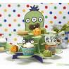 Stand de presentación cupcakes /dulces Monstruos Party