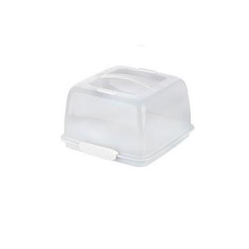 Caja Transportadora Térmica Cuadrada Blanca Tescoma