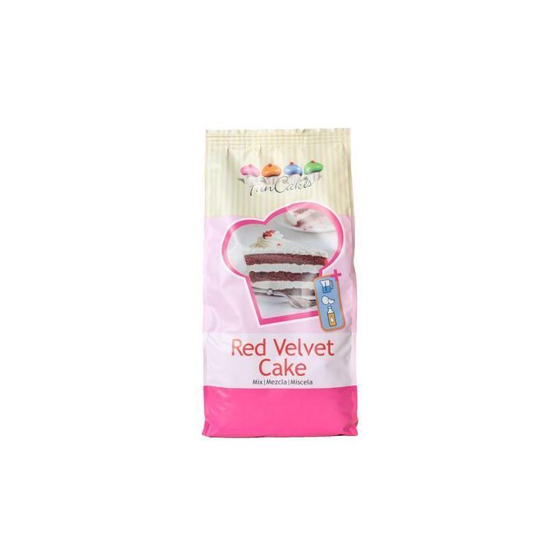 Mix para Red Velvet Cake Funcakes 1kg